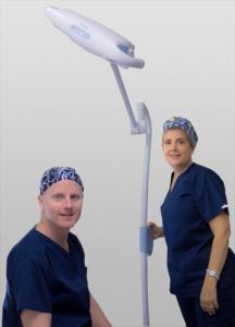 The Vasectomist with Assistant