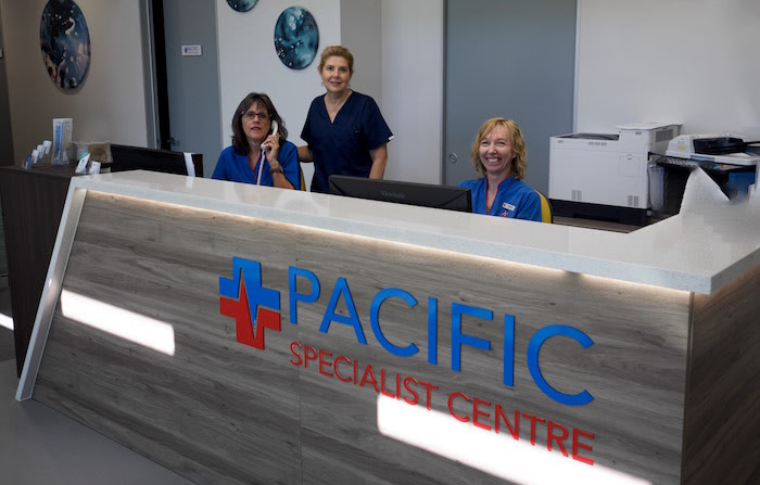 Staff At pacific specialist centre